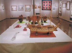 「趣味の作品展」(平成17年4月8日から6日間)